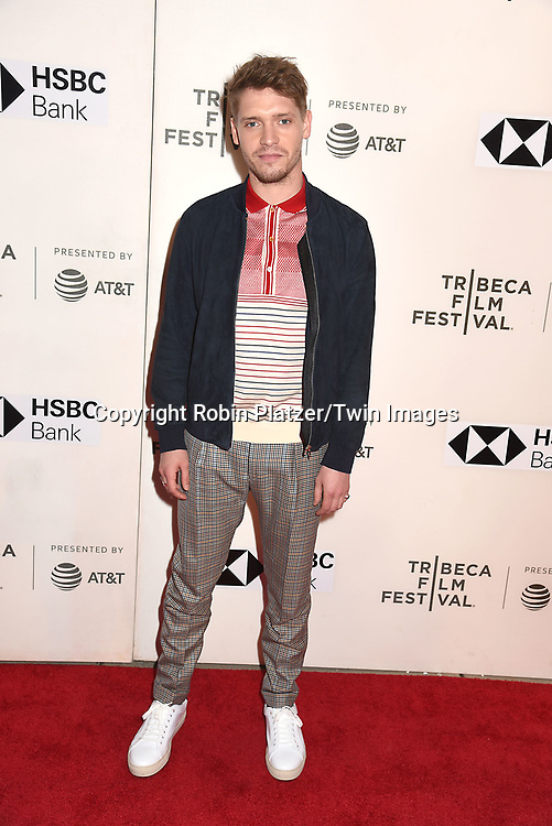 "actor Billy Howle attends ""The Seagull"" Screening at the Tribecca Film Festival at BMCC on April 21, 2018 in New York City, New York, USA.<br /> <br /> photo by Robin Platzer/Twin Images<br />  <br /> phone number 212-935-0770"