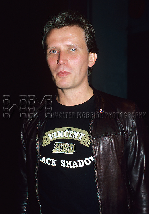Peter Weller pictured in New York City in 1982.