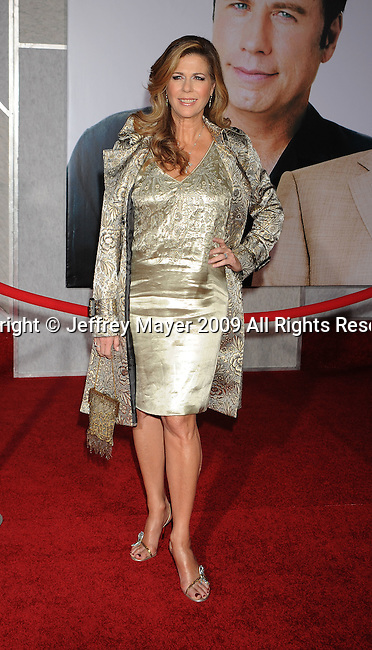 "HOLLYWOOD, CA. - November 09: Rita Wilson  arrives at the ""Old Dogs"" Premiere at the El Capitan Theatre on November 9, 2009 in Hollywood, California."
