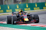 12.05.2018 Daniel Ricciardo (AUS) Aston Martin Red Bull Racing at Formula One World Championship,  Spanish Grand Prix, Qualifying, Barcelona, Spain
