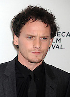 Anton Yelchin attends the '5 To 7' Premiere during the 2014 Tribeca Film Festival at the SVA Theater in New York City, NY, USA, on April 19, 2014. Credit: Dennis Van Tine/MediaPunch