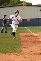SAN ANTONIO, TX - MARCH 30, 2011: The Houston Baptist University Huskies vs. the University of Texas at San Antonio Roadrunners Softball at Roadrunner Field. (Photo by Jeff Huehn)