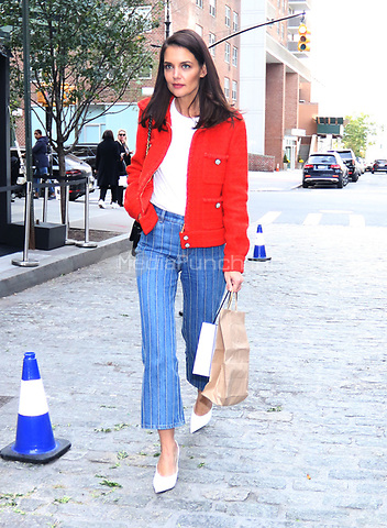 November 04, 2019 Katie Holmes attend Through Her Lens: The Tribeca Chanel Women's Filmmaker Program Luncheon at Locanda Verde  in New York.November 04, 2019. Credit:RW/MediaPunch
