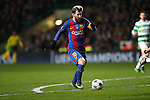 Lionel Messi of Barcelona during the Champions League match at Celtic Park, Glasgow. Picture Date: 23rd November 2016. Pic taken by Lynne Cameron/Sportimage