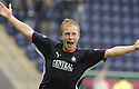 27/09/2008  Copyright Pic: James Stewart.File Name : sct_jspa12_falkirk_v_hamilton.SCOTT ARFIELD CELEBRATES AFTER HE SCORES FALKIRK'S SECOND.James Stewart Photo Agency 19 Carronlea Drive, Falkirk. FK2 8DN      Vat Reg No. 607 6932 25.Studio      : +44 (0)1324 611191 .Mobile      : +44 (0)7721 416997.E-mail  :  jim@jspa.co.uk.If you require further information then contact Jim Stewart on any of the numbers above........