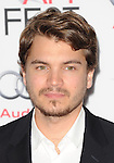 Emile Hirsch at the Lone Survivor Premiere, held at TCL Chinese Theatre Los Angeles, Ca. November 12, 2013.