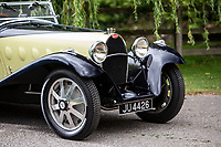 BNPS.co.uk (01202 558833)<br /> Pic: Bonhams/BNPS<br /> <br /> Unique lines...<br /> <br /> A classic car bought by a British motoring enthusiast for £750 before it was nearly written off by a drunk driver has sold for £3.8m.<br />  <br /> The 1932 Bugatti Type 55 roadster belonged to the late Geoffrey St John for over 50 years until his death last February.<br /> <br /> In 1994 he was badly injured when the motor was ploughed into by a drunk driver in France.<br /> <br /> Luckily the car - then valued at about £1m - could be salvaged and repaired.