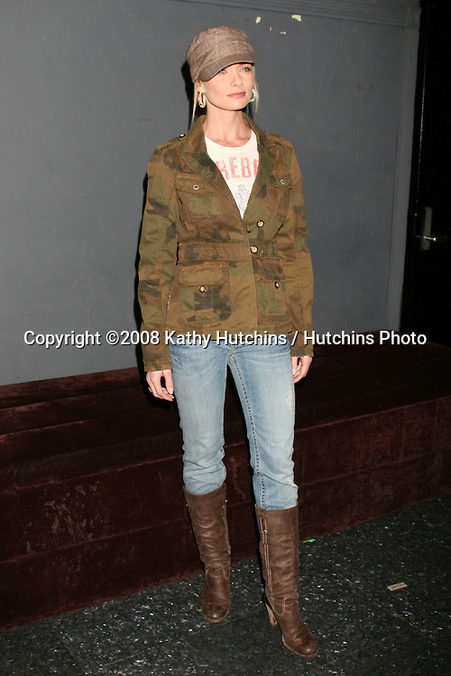 "Jamie Pressly.Album Release Party for ""Course of Nature"".Key Club.Los Angeles, CA.February 6, 2008.©2008 Kathy Hutchins / Hutchins Photo...."
