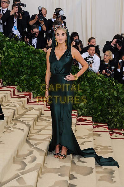 07 May 2018 - New York, New York - Kate Upton. 2018 Metropolitan Museum of Art Costume Institute Gala: &quot;Heavenly Bodies: Fashion and the Catholic Imagination. <br /> CAP/ADM/CS<br /> &copy;CS/ADM/Capital Pictures