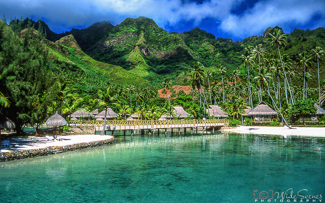 Resort in Moorea, French Polynesia