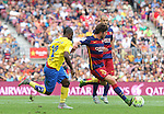 26.09.2015 Barcelona. La Liga day 6. Picture show Sergi Roberto in action during game between FC Barcelona against Las Palmas at Camp Nou.