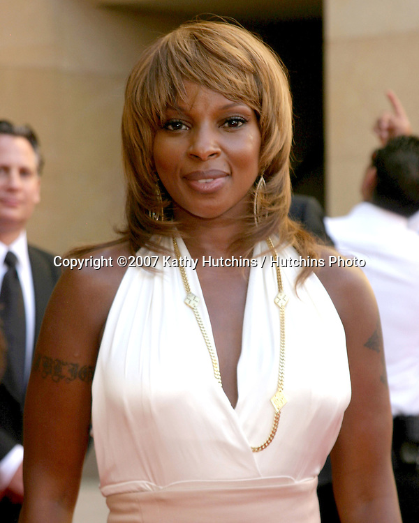 Mary J. Blige.ESPY Awards 2007.Kodak Theater.Los Angeles, CA.July 11, 2007.©2007 Kathy Hutchins / Hutchins Photo....