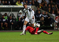 Pictured: Angel Rangel of Swansea.<br />
