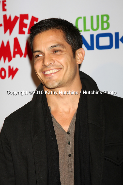 "Nicholas Gonzalez .arriving at the ""The Pee Wee Herman Show"" Opening Night..Club Nokia.Los Angeles, CA.January 20, 2010.©2010 Kathy Hutchins / Hutchins Photo...."