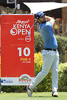Antoine Rozner (FRA) during the second round of the Magical Kenya Open, Karen Country Club, Nairobi, Kenya. 15/03/2019<br /> Picture: Golffile | Phil Inglis<br /> <br /> <br /> All photo usage must carry mandatory copyright credit (&copy; Golffile | Phil Inglis)