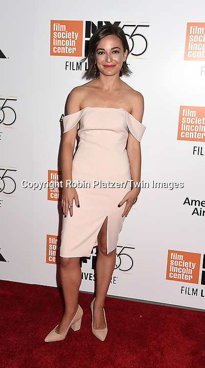 Kate Easton attends the  Opening Night Gala Presentation and World Premiere of &quot; Last Flag Flying&quot; at the 55th New York Film Festival on September 28, 2017 at Alice Tully Hall in Lincoln Center in New York City. <br /> <br /> photo by Robin Platzer/Twin Images<br />  <br /> phone number 212-935-0770