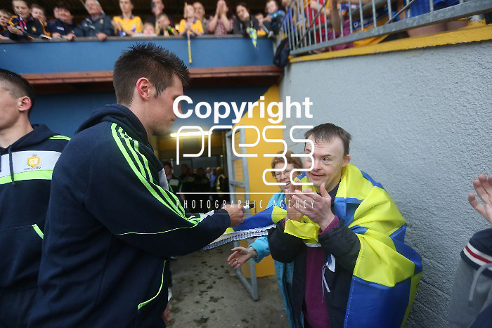 Clare Hurling fans at  the Open Training Night on Tuesday. Pic. Brian Arthur/ Press 22.