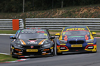 Round 10 of the 2018 British Touring Car Championship. #77 Andrew Jordan. BMW Pirtek Racing. BMW 125i M Sport. #25 Matt Neal. Halfords Yuasa Racing. Honda Civic Type R.