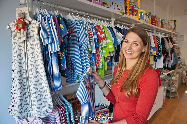 Lucy Sheard, Izzy Jones children's boutique and craft studio, Kilburn Lane