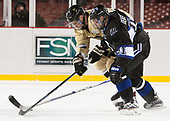 ?, Tyler Deresky (Bentley - 11) - The Bentley University Falcons defeated the Army West Point Black Knights 3-1 (EN) on Thursday, January 5, 2017, at Fenway Park in Boston, Massachusetts.The Bentley University Falcons defeated the Army West Point Black Knights 3-1 (EN) on Thursday, January 5, 2017, at Fenway Park in Boston, Massachusetts.
