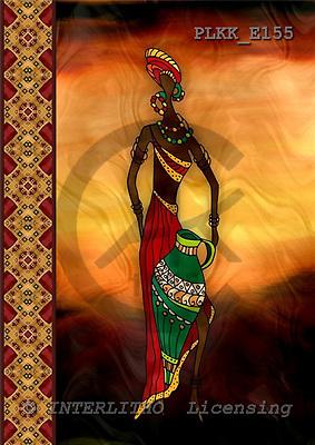 Kris, MODERN, ethnical, paintings, PLKKE155,#n#