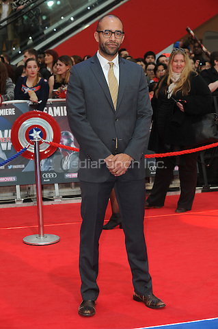 LONDON, ENGLAND - APRIL 26: Producer Nate Moore attends the European premiere of Captain America: Civil War at Westfield Shopping Centre on April 26, 2016 in London, England.<br /> CAP/BEL<br /> &copy;BEL/Capital Pictures /MediaPunch ***NORTH AMERICAN AND SOUTH AMERICAN SALES ONLY***
