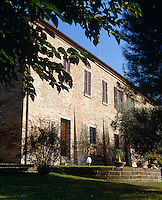 The converted 15th century monastery is surrounded by a mature garden whose trees provide welcome shade from the sun