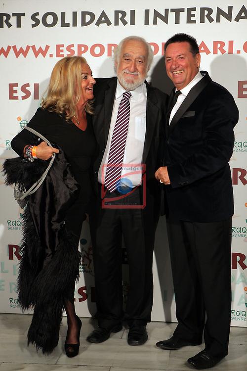 XIe Sopar Solidari d'ESI (Esport Solidari Internacional).<br /> Josep Maldonado, Agustin Ramirez &amp; Sra.
