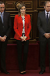 Queen Letizia of Spain attends the Rare Diseases World Day Event organized by FEDER in Madrid, Spain. March 05, 2015. (ALTERPHOTOS/Victor Blanco)