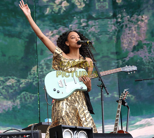 Corinne Bailey Rae performs on Day Two of British Summertime at Hyde Park, London on July 6th 2019<br /> CAP/ROS<br /> ©ROS/Capital Pictures