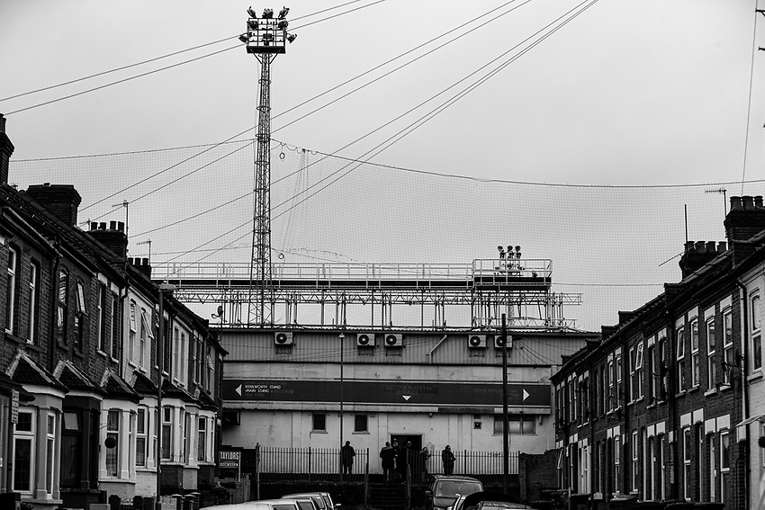 A general view of Kenilworth Road, home of Luton Town<br /> <br /> Photographer Alex Dodd/CameraSport<br /> <br /> The EFL Sky Bet Championship - 191123 Luton Town v Leeds United - Saturday 23rd November 2019 - Kenilworth Road - Luton<br /> <br /> World Copyright © 2019 CameraSport. All rights reserved. 43 Linden Ave. Countesthorpe. Leicester. England. LE8 5PG - Tel: +44 (0) 116 277 4147 - admin@camerasport.com - www.camerasport.com