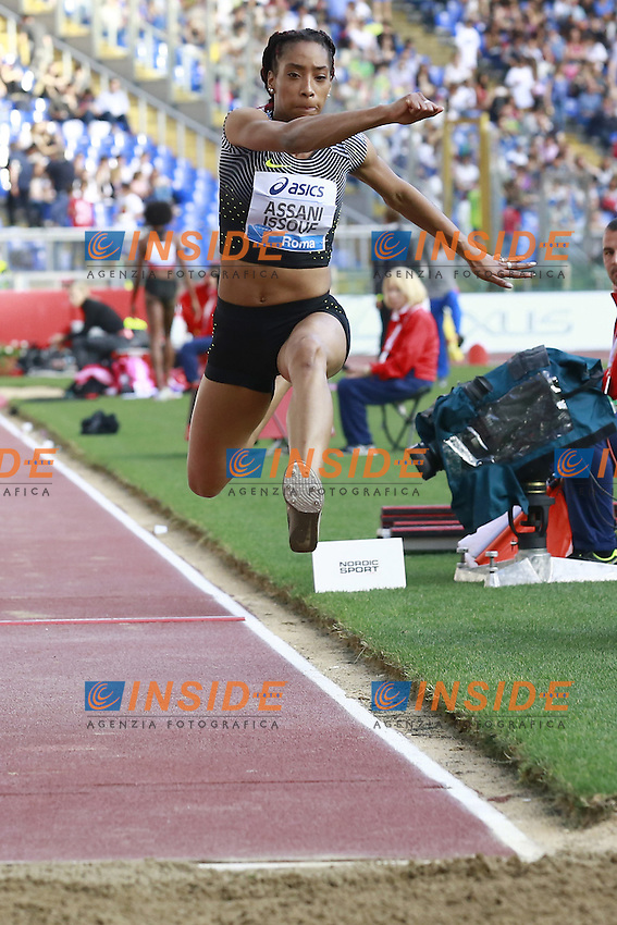 Jeanine Assani Issouf FRA  <br /> Roma 02-06-2016 Stadio Olimpico.<br /> IAAF Diamond League 2016<br /> Atletica Legera <br /> Golden Gala Meeting - Track and Field Athletics Meeting<br /> Foto Cesare Purini / Insidefoto