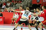 13.01.2018., Croatia, Arena Zagreb, Zagreb - European Handball Championship, Group C, Round 1, Germany - Montenegro. SEVALJEVIC Vasko <br /> <br /> Foto &copy; nordphoto / Dalibor Urukalovic/PIXSELL