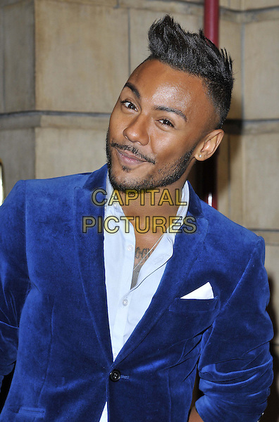 LONDON, ENGLAND - OCTOBER 23: Marcus Collins attends the &quot;Memphis&quot; press night performance, Shaftesbury Theatre, Shaftesbury Avenue, on Thursday October 23, 2014 in London, England, UK. <br /> CAP/CAN<br /> &copy;Can Nguyen/Capital Pictures