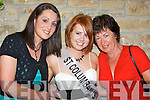 Susan Ahern representing St. Columbanus Nursing Home with supporters Laura & Ber Power before the 2008 Kerry Rose Selection in The Earl of Desmond Hotel on Saturday night.........   Copyright Kerry's Eye 2008