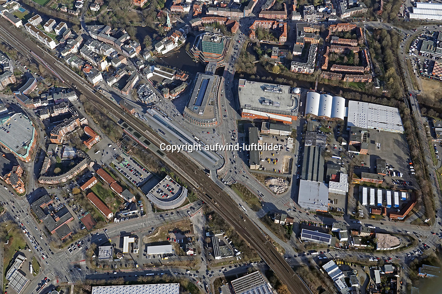 Bergedorf Zentrum : EUROPA, DEUTSCHLAND, HAMBURG, (EUROPE, GERMANY), 22.03.2017: Bergedorf Zentrum