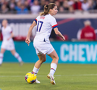 , FL - : Tobin Heath #17 of the United States dummies the ball during a game between  at  on ,  in , Florida.