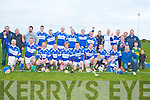 The St Brendan's team winners of the County Junior Hurling Final in Abbeydorney on Sunday.