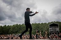 Parkway Drive paa Helviti.  Copenhell 2018 p&aring; Refshale&oslash;en i K&oslash;benhavn. Fire dage med rock, metal og dedikerede fans.<br /> <br /> Copenhell 2018 on Refshale Island in Copenhagen. Four days of rock, metal and dedicated fans.<br /> <br /> Foto: Jens Panduro<br /> <br /> Copenhagen, Copenhell, musikfestival, festival, musik, rockmusik, metal, hardcore, thrashmetal, punk, punkrock, metalcore, Refshale&oslash;en, Reffen, koncerter, rockkoncerter., Music Festival, Music, Rock Music, Thrash Metal, Refshale Island, Concerts, Rock Concerts.