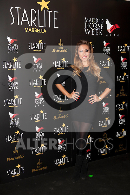Gisela attends Starlite 2015 presentation party at the Barcelo Theater on November 26, 2014 in Madrid, Spain.(ALTERPHOTOS / Nacho Lopez)