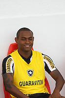 RIO DE JANEIRO, RJ, 10 DE MARCO 2012 - CAMPEONATO CARIOCA - 3a RODADA - TACA RIO - BOTAFOGO X BANGU - XXXXXX, jogador do Botafogo, durante partida contra o Bangu, pela 3a rodada da Taca Rio, no estadio Proletario, Bangu, na cidade do Rio de Janeiro, neste sabado, 10. FOTO BRUNO TURANO  BRAZIL PHOTO PRESS