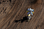 Ricky Carmichael (4) competes on the course at the Unadilla Valley Sports Center in New Berlin, New York on July 16, 2006, during the AMA Toyota Motocross Championship.