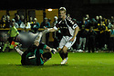 20/09/2006        Copyright Pic: James Stewart.File Name : sct_jspa03_alloa_v_hearts.juho makela celebrates after he scores hearts first......Payments to :.James Stewart Photo Agency 19 Carronlea Drive, Falkirk. FK2 8DN      Vat Reg No. 607 6932 25.Office     : +44 (0)1324 570906     .Mobile   : +44 (0)7721 416997.Fax         : +44 (0)1324 570906.E-mail  :  jim@jspa.co.uk.If you require further information then contact Jim Stewart on any of the numbers above.........