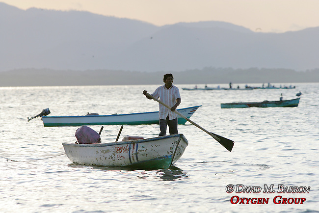 Man On Boat - Gulf Of Nicoya