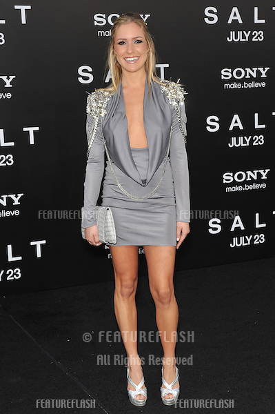 "Kristin Cavallari at the premiere of ""Salt"" at Grauman's Chinese Theatre, Hollywood..July 19, 2010  Los Angeles, CA.Picture: Paul Smith / Featureflash"