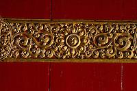 Buddhist  Monastery Art in Sikkim India