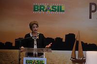 BRASILIA, DF, 07.10.2015 - DILMA-OLIMPICO -  A presidente Dilma Rousseff, durante a cerimônia Ano Olímpico para o Turismo, no  Centro de Convenções Ulysses Guimarães, nessa quarta-feira.(Foto:Ed Ferreira / Brazil Photo Press)