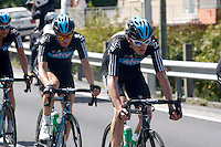 Christopher Froome during the stage of La Vuelta 2012 between Vilagarcia de Arousa and Mirador de Erazo (Dumbria).August 30,2012. (ALTERPHOTOS/Paola Otero) /NortePhoto.com<br />