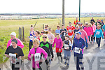 READY STEADY-GO: Off they ran in the Kerryhead Resourse Centre Ballyheigue 5-10k Run on Sunday in Ballyheigue.