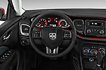 Car pictures of steering wheel view of a 2015 Dodge Dart SE 4 Door Sedan Steering Wheel